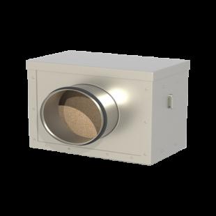 Система канальной вентиляции для круглых каналов