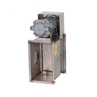 Противопожарные нормально открытые (НО) клапаны систем общеобменной вентиляции и кондиционирования